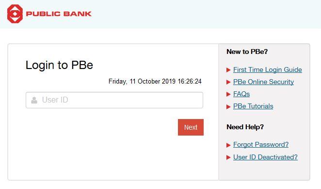 Check Balance Account Public Bank