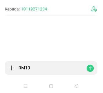 Cara Share Top Up Credit Celcom Melalui SMS